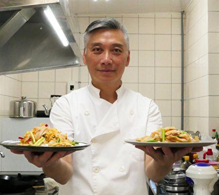 台中廚研所的主廚江朝富。