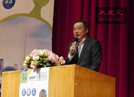 行政院南服中心執行長陳政聞希望透過「南方領袖教育學院」系列座談會,讓南台灣的觀點和中央充分溝通。