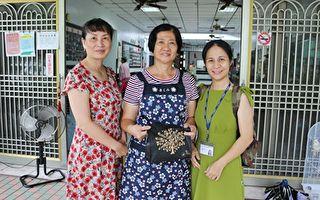 林女55歲初入職場一做滿8年  家庭環境整個改善