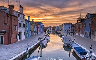 组图:意大利的五彩岛屿—威尼斯布拉诺岛
