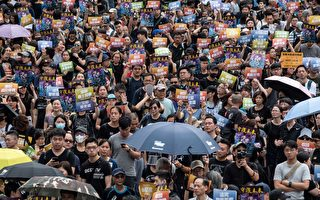 一位香港示威者吶喊 :救一救我們的未來