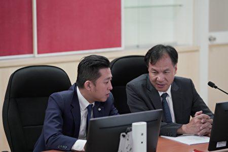 林智坚与连江县长刘增应交流施政秘诀
