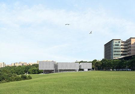 現代美術館模擬圖。