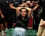 中共喉舌《環球時報》記者付國豪被香港反送中示威民眾懷疑為公安臥底。