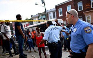 美国费城枪击案 6警察受伤 枪手被拘捕