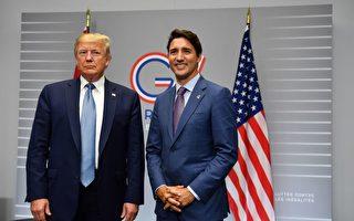 川普与特鲁多G7会谈 共同推动美墨加协议