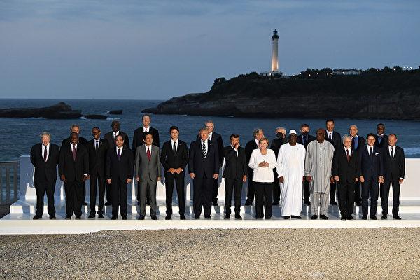 七國首腦聯合肯定《中英聯合聲明》