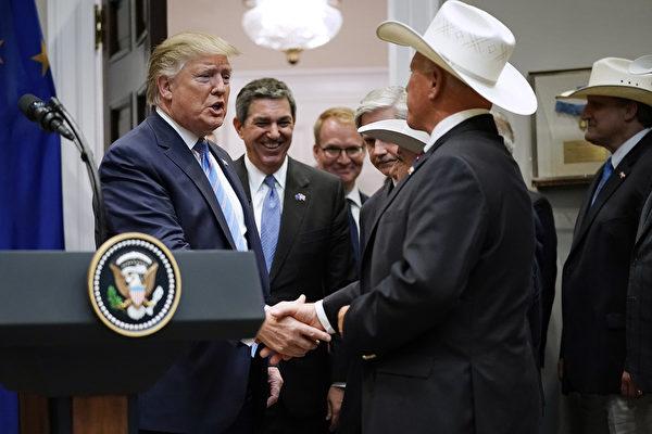 川普宣布与欧盟达成协议 增加美牛肉出口
