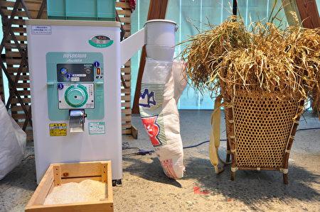 玄米机,去除糠层将糙米变白米