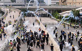 港警狂射催泪弹 再有示威者眼睛受伤