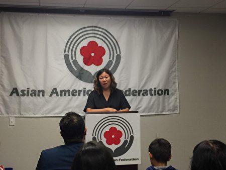 國會眾議員孟昭文參加了亞美聯盟的反對公共負擔新規新聞發布會。