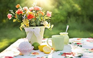 花 杯 下午茶