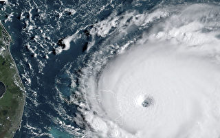 5级飓风多利安速度放缓 仍继续袭击巴哈马