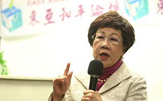 参访宫庙 吕秀莲:当选将宣布台湾是宗教王国