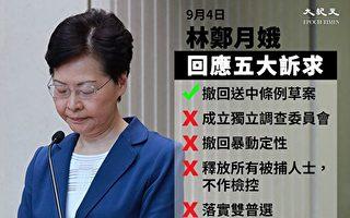 台高雄市議會挺香港 提案林鄭列不歡迎人物
