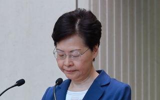 从未向中央政府提出辞职?林郑改口引热议