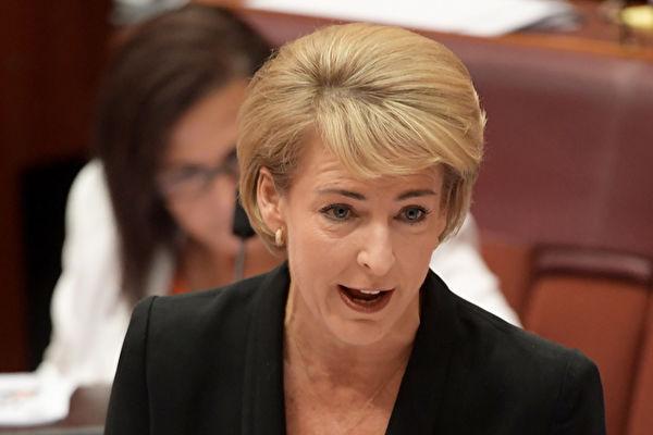 澳洲就业与技术部长卡什(Michaelia Cash)