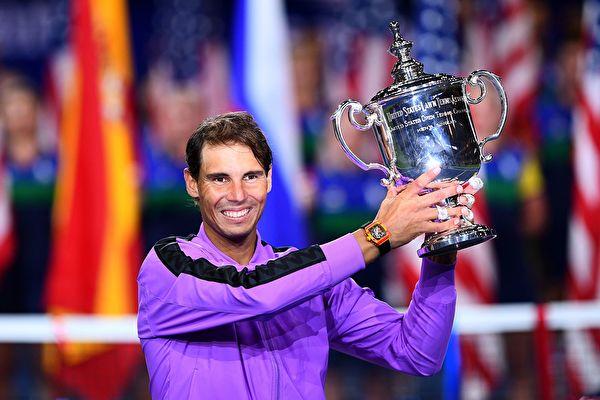 纳达尔四夺美网冠军
