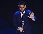 阿根廷球星梅西六获世界足坛最佳球员奖