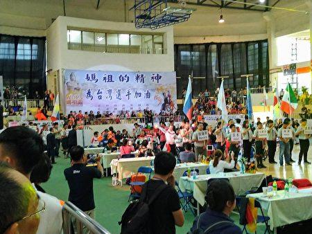 媽祖盃輪椅運動舞蹈國際公開賽,21日在北港體育館盛大登場。