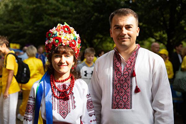 滴水穿石 乌克蘭夫妇的坚韧诚心感化民众