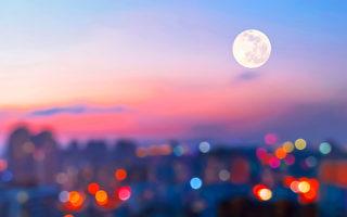 今年讓我們一起  發呆看月亮吧!