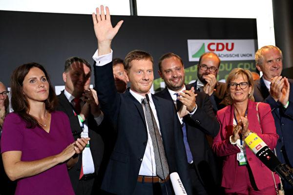 德国东部二联邦州选举 黑红两党损失惨重