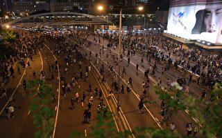 【更新中】港人继续抗争 警发催泪弹射水炮车