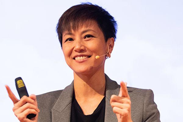 在澳洲演讲香港反送中的何韵诗被中共造谣逃亡澳洲