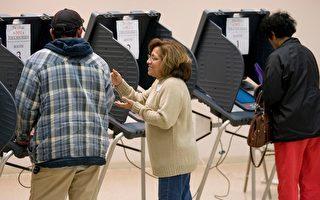 德州哈里斯郡的一个选举投票点。