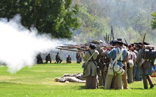 纪念南北战争155周年 南加再现当年场景