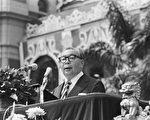1972年蔣經國發表《反共復國的總目標絕不改變》