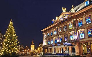 德國小城政府樓變裝秀 最大聖誕日曆取悅民眾