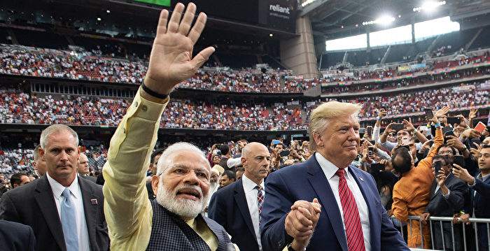消息:川普將訪印度 最快或在2月下旬
