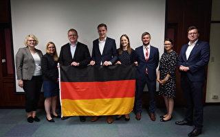 德國政治青年團體訪台 分享青年公共參與