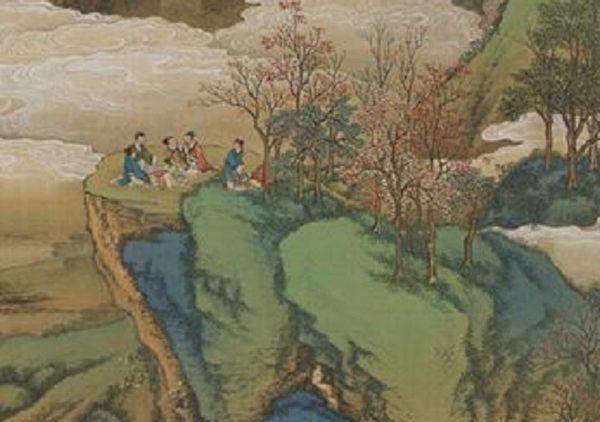 清畫院畫《十二月月令圖.九月》局部。(公有領域)