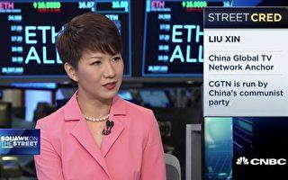 劉欣上美媒節目 被指再為中共宣傳