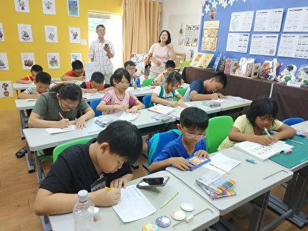 龙潭循理会社区课辅班。