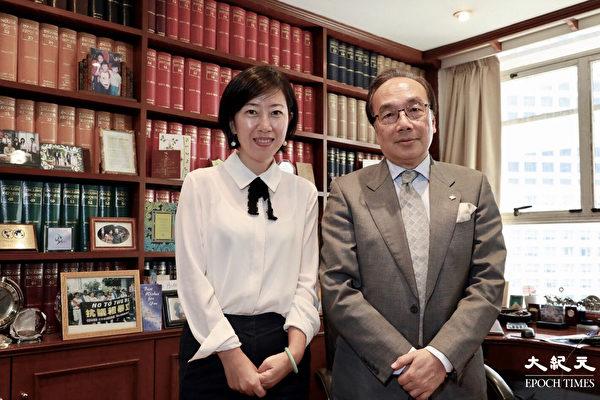 香港資深大律師、公民黨主席梁家傑接受梁珍專訪(王偉明/大紀元)