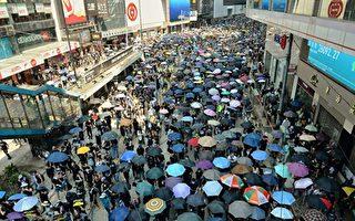 北京庆祝 香港流血 抗议者:无法用语言形容