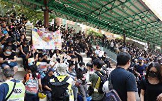 中共大量軍車泊深圳灣 港人無懼鎮壓再上街