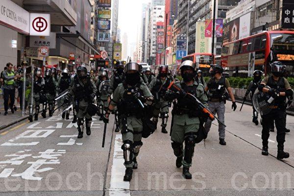 亲历抗争现场 美议员:香港正沦为警察社会