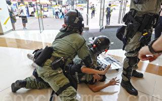 组图:10.13港民抗暴 警方拘捕多人