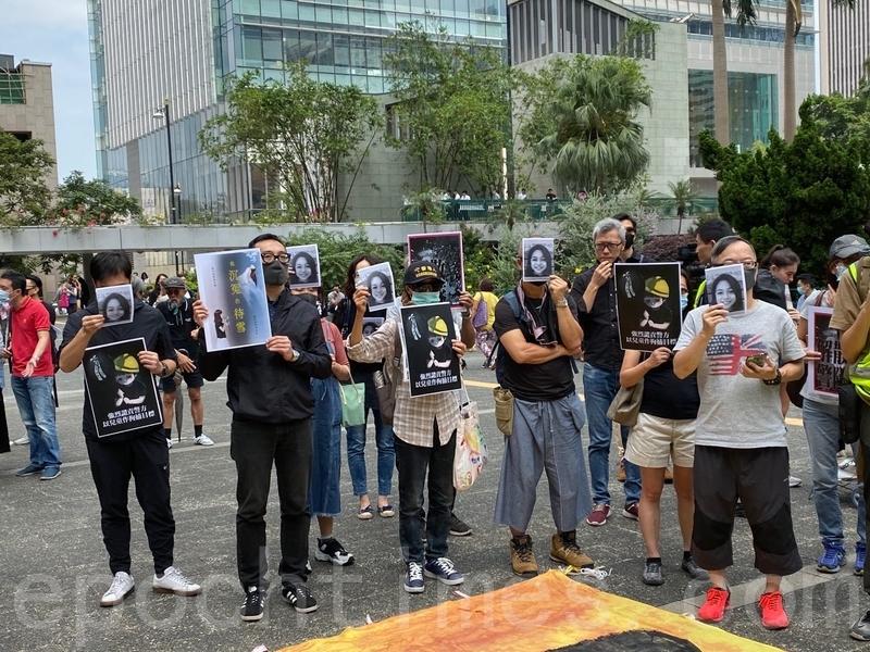 組圖:香港五區快閃遊行 向惡法說「不」