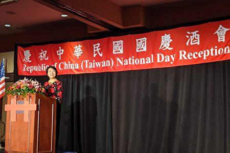 經文處處長徐儷文致詞表示,中華民國為國際社會負責任的一份子,代表良善的力量。