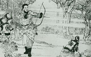 清朝黑马将军的传说