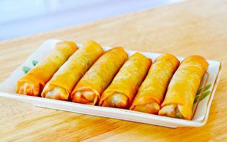 【美食天堂】酥脆虾肉春卷食谱~真的太好吃啦!