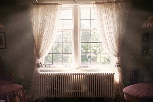 window, heater, shutterstock