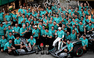 F1日本站:梅奔提前四站實現車隊六連冠
