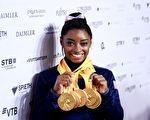 世界體操錦標賽:美國女將拜爾斯獨攬五金